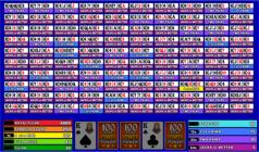 100 hand Power Poker at Wild Jack Casino - click to visit them