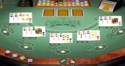 3-card poker is really fun! I recommend this game highly!