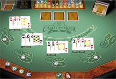 3 card poker multihand play - another great Microgaming GOLD SERIES casino game at SpinPalaceCasino.com