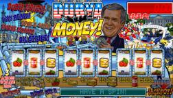 Dubya Money slot game new at Ladbrokes Casino