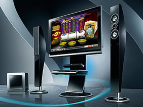 Click for more on your chance to win this entertainment system at bet365 Casino