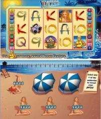 New 5 reel Lifes A Beach slots game from Microgaming