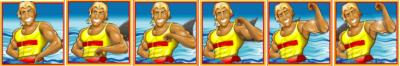 3 or more lifeguards triggers the bonus round