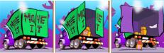 Prime Property Moving Van - this is a fun slots game!