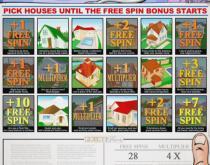 Prime Property Bonus Game - keep picking houses