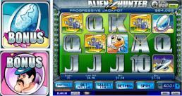 Alien Hunters - Playtechs new 25 line video slot