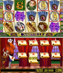 Cashville new instant play at Spin Palace Casino
