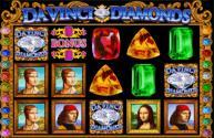 Davinic Diamonds slot from Wagerworks