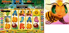 Click to o to Bodog Casino to play Honey to the Bee slot