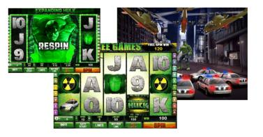 Incredible Hulk videoslot new at BetFredCasino.com