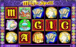 Magic Spell Slots Game - new at Microgaming Casinos 31 January 2007