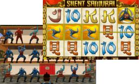 Silent Samarai slot game - new at Bet365 Playtech Casino