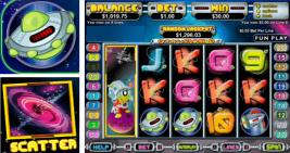 Click to visit Canbet Casino where you can play this Alien themed game