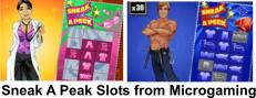 Sneak a Peak Slots - fun and sexy