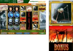 War of the Worlds slot machine - play free or for real